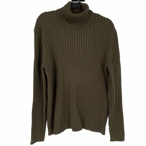 ToGo Turtleneck Sweater Cotton Ribbed Medium
